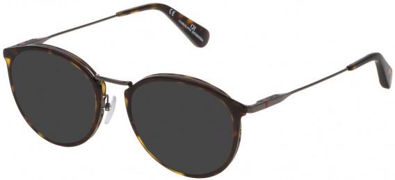 CH Carolina Herrera VHE115 sunglasses in Shiny Dark Havana