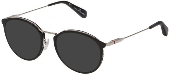 CH Carolina Herrera VHE115 sunglasses in Shiny Black