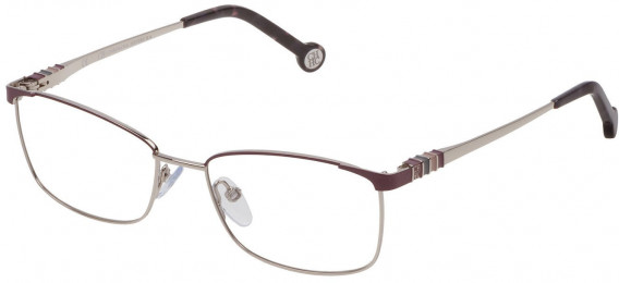 CH Carolina Herrera VHE114L sunglasses in Shiny Palladium