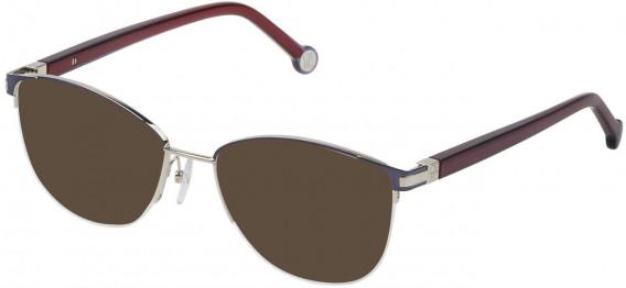 CH Carolina Herrera VHE112 sunglasses in Blue Steel