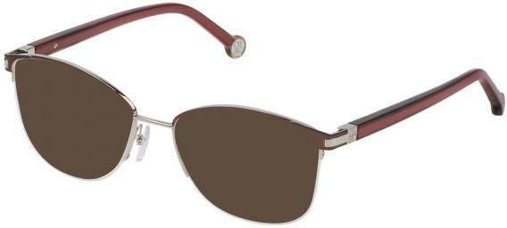 CH Carolina Herrera VHE112 sunglasses in Shiny Brown