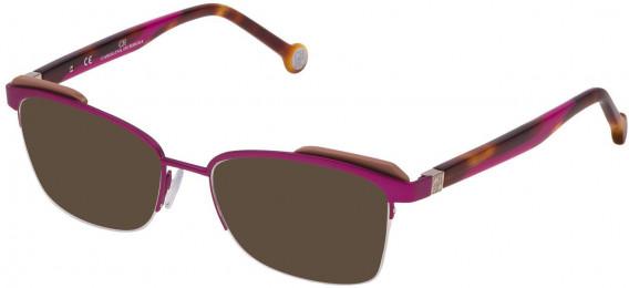 CH Carolina Herrera VHE111 sunglasses in Matt Full Fuxia