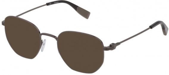 Trussardi VTR394 sunglasses in Shiny Gun