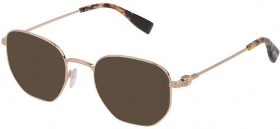 Trussardi VTR394 sunglasses in Shiny Rose Gold