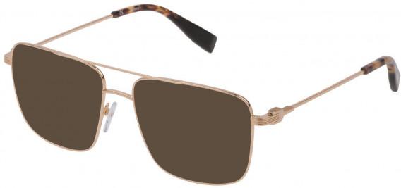 Trussardi VTR393 sunglasses in Shiny Rose Gold