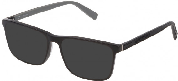 Trussardi VTR391 sunglasses in Shiny Black