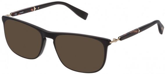 Trussardi VTR352 sunglasses in Shiny Black