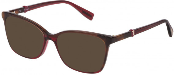 Trussardi VTR309 sunglasses in Havana Brown