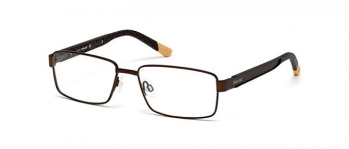 Timberland TB1302 glasses in matte dark brown
