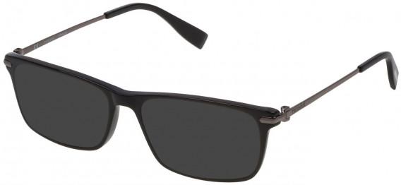 Trussardi VTR249 sunglasses in Shiny Black