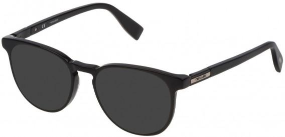 Trussardi VTR243 sunglasses in Shiny Black