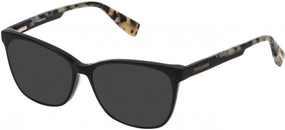 Trussardi VTR158N sunglasses in Shiny Black