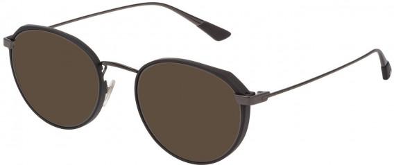 Police VPL803 sunglasses in Shiny Gun