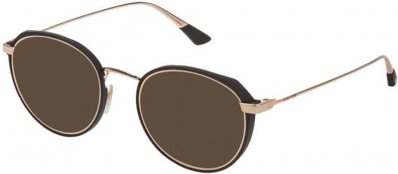 Police VPL803 sunglasses in Shiny Rose Gold