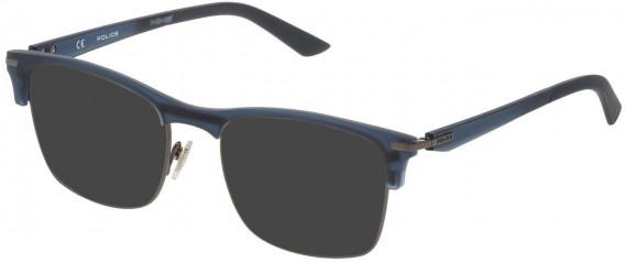 Police VPL701 sunglasses in Shiny Gun