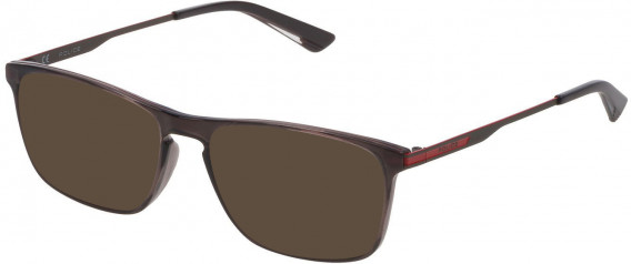 Police VPL697 sunglasses in Shiny Dark Grey
