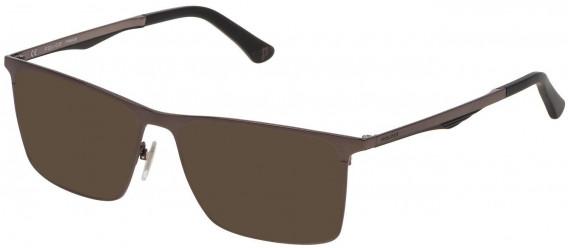 Police VPL685 sunglasses in Shiny Gun