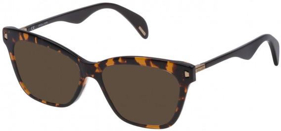 Police VPL627 sunglasses in Shiny Havana