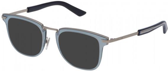 Police VPL566 sunglasses in Matt Palladium