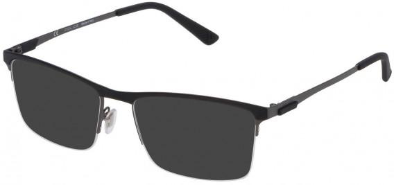 Police VPL564F sunglasses in Matt Gun Metal