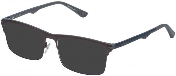 Police VPL483 sunglasses in Matt Gun/Coloured