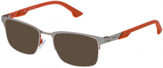 Police VPL481 sunglasses in Matt Palladium/Orange