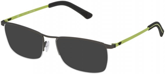 Police VPL470 sunglasses in Rubberized Gun