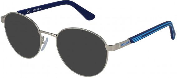 Police VK560 sunglasses in Shiny Full Palladium