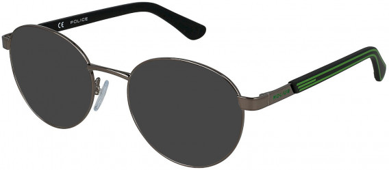 Police VK560 sunglasses in Shiny Gun