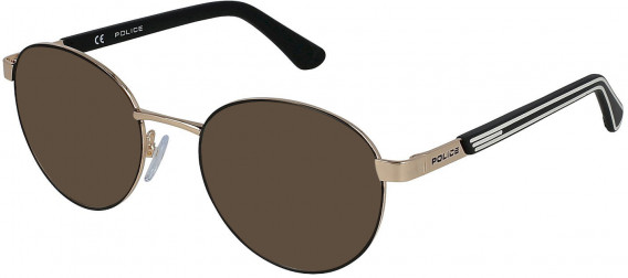 Police VK560 sunglasses in Rose Gold/Semi Matt Black