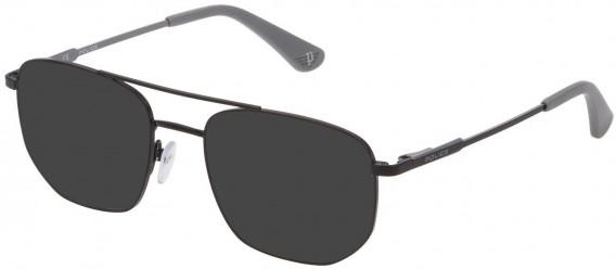 Police VK556 sunglasses in Semi Matt Black