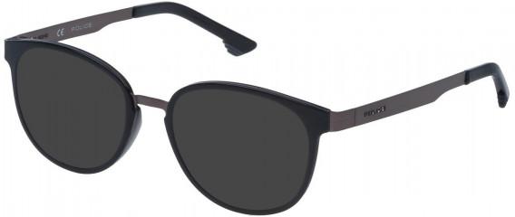 Police VK547 sunglasses in Matt Gun Metal