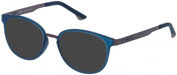 Police VK547 sunglasses in Shiny Gun