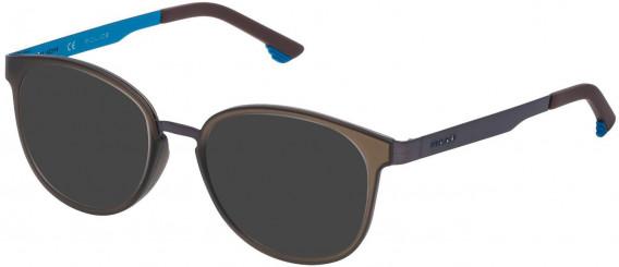 Police VK547 sunglasses in Gun Metal/Turquoise