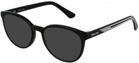 Police VK081 sunglasses in Shiny Black