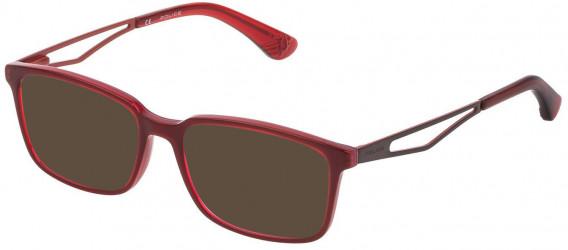 Police VK072 sunglasses in Multilayer Bordeaux