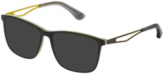Police VK071 sunglasses in Multilayer Black