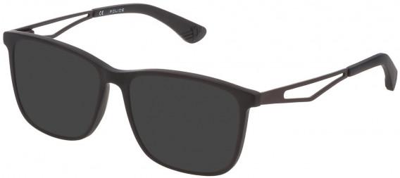 Police VK071 sunglasses in Matt/Sandblasted Black