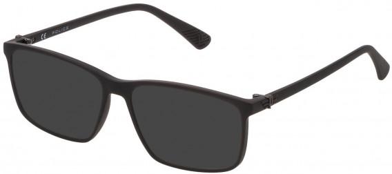 Police VK070 sunglasses in Matt Black