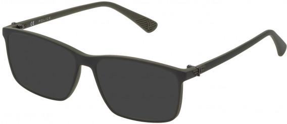 Police VK070 sunglasses in Matt Green