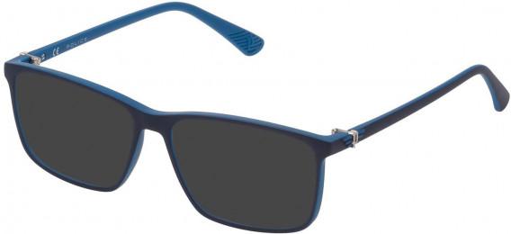Police VK070 sunglasses in Blue/Azure