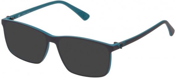 Police VK070 sunglasses in Azur/Grey