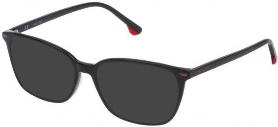 Police VK062 sunglasses in Shiny Black