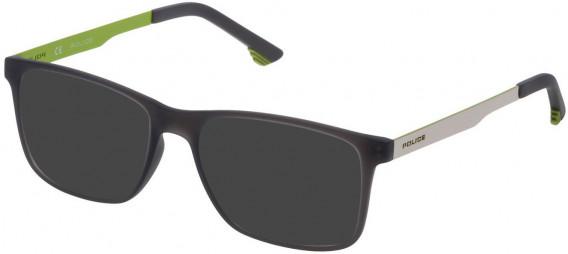 Police VK059 sunglasses in Opal Light Grey