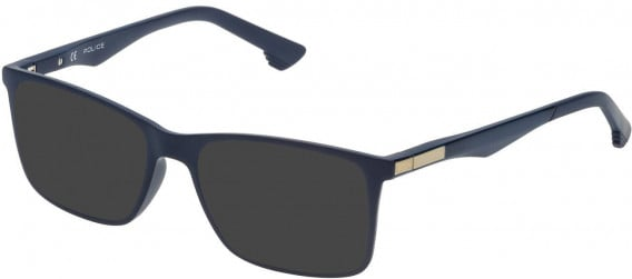 Police VK057 sunglasses in Full Blue