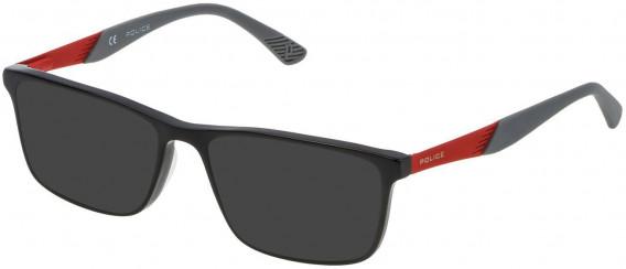 Police VK056 sunglasses in Shiny Black