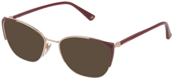 Nina Ricci VNR232 sunglasses in Rose Gold/Coloured