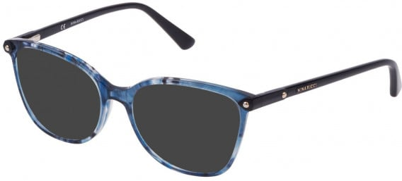 Nina Ricci VNR193 sunglasses in Melange Blue