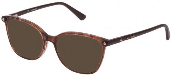 Nina Ricci VNR193 sunglasses in Shiny Melange Brown