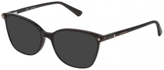 Nina Ricci VNR193 sunglasses in Shiny Black